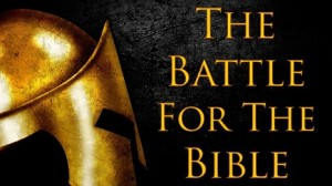 battle for the bible
